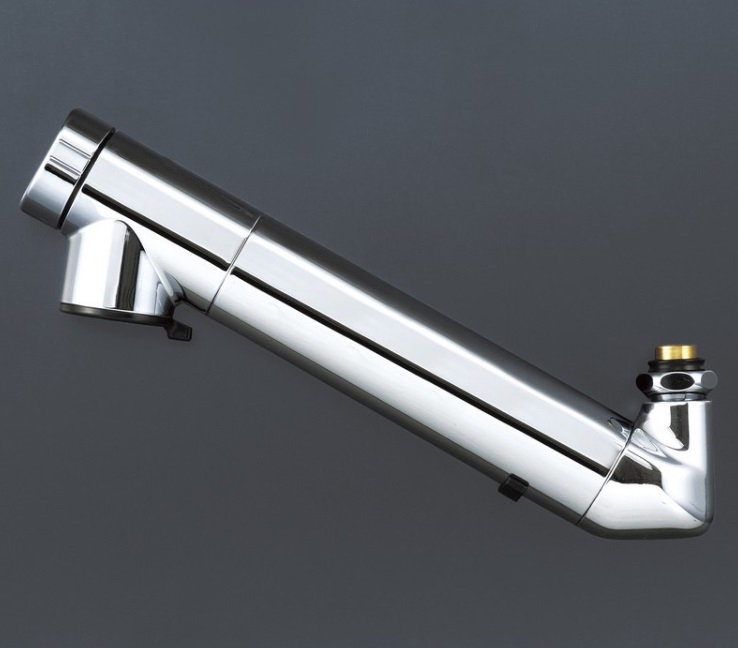 【KVK】ZS202N 浄水器内臓吐水パイプ 13(1/2)用 210mm パイプ付 送料無料