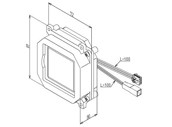 【TOTO】小便器用 光電センサー TH58144 US301C US401C等 露出型 埋込型 送料無料 ※納期が掛かる場合がございます