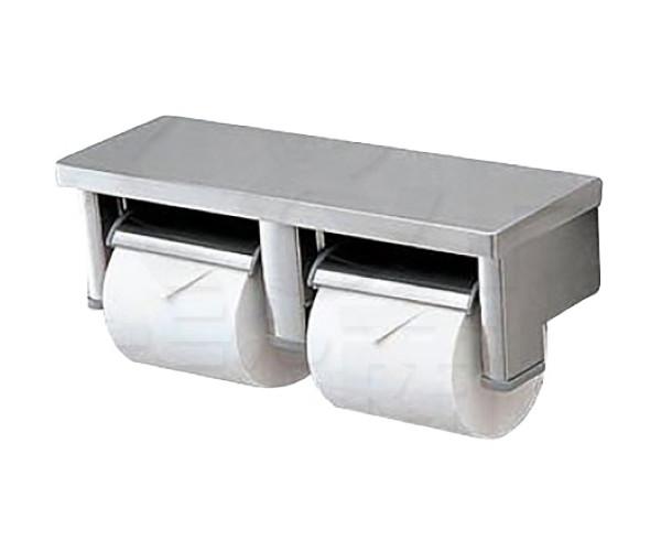 【TOTO】パブリック向け 棚付二連紙巻器 YH701 スペア1個 (横型タイプ) サイズ360×113×106 立座ラク棚付 ペーパーホルダー トイレアクセサリー 送料無料