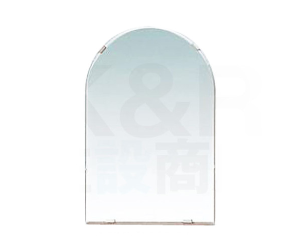 【TOTO】化粧鏡(耐食鏡)アーチ形 YM4510FA サイズ450×1000 耐食塗布 浴室・洗面 アクセサリーミラー 送料無料