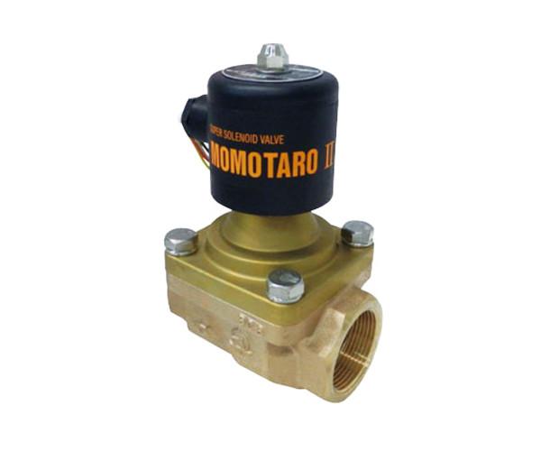 【株式会社ベン】VENN 桃太郎2 電磁弁(蒸気・液体・空気用) PS22-W 呼び径40(1 1/2) ねじ込形 SSS&AAS採用 タテ・ヨコ取付け自由 適用圧力:0~1.0MPa 送料無料