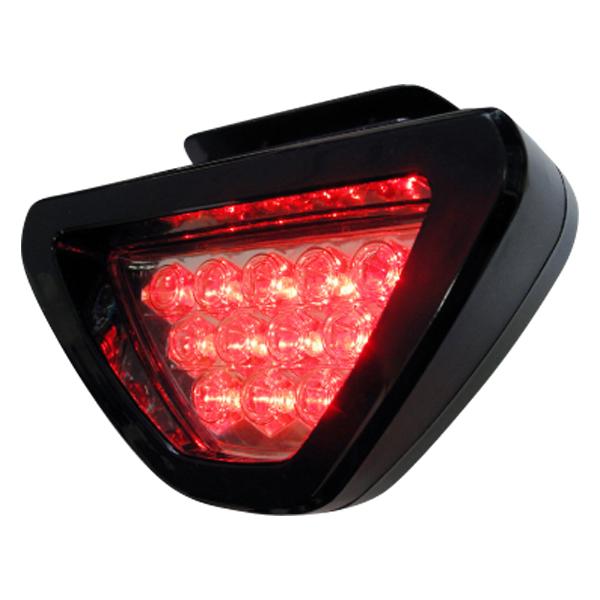 新商品が続々入荷中! LED F1風 バック フォグ LED 外装 パーツ 赤色 LED ブレーキ 連動  F1風 バック フォグ ランプ LEDバックフォグ 赤色 LED12灯 ブレーキ スモール連動 リアバンパー カスタム 外装 パーツ _28062