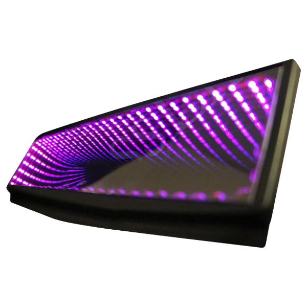 Krosslink Rearview Mirror Led Black Hole Pink
