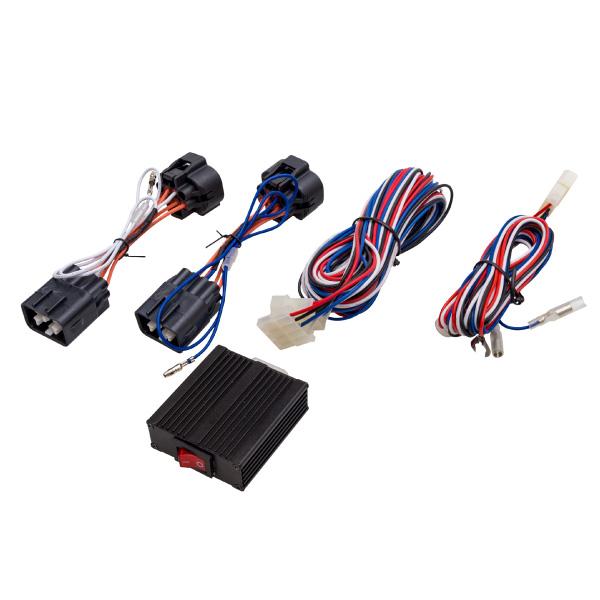 スバル フォレスター SJ系 後期 ポジション デイライト キット 車検対応 簡単取付け スイッチ付き LEDヘッドライト専用 SUBARU FORESTER _59896