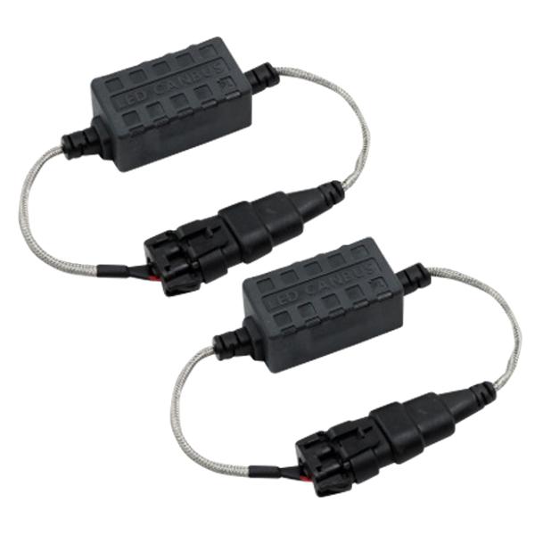 Lights canceller for 12 V 2 warning Canceler CANBUS car for H1 H3 Hi/H11 H4  Lo HB3 HB4 H10 H7 H8 H9 warning light resistors European cars domestic