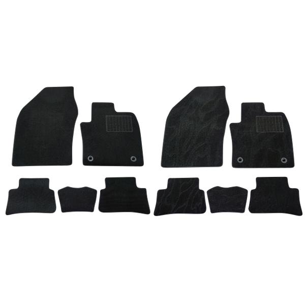 G Floor Mats >> Toyota C Hr Hybrid Floor Mat Front Desk Rear Five Points Set Two Types Black Plain Fabric Black Pattern Driver S Seat Passenger Seat Rear Seat New