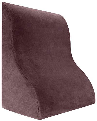 Meiz 最新型 贈与 三角クッション ベッド 背もたれ 体にフィット なだらか枕 腰痛 読書用 プレゼント 付与 クッション 父 年寄 逆流性食道炎枕