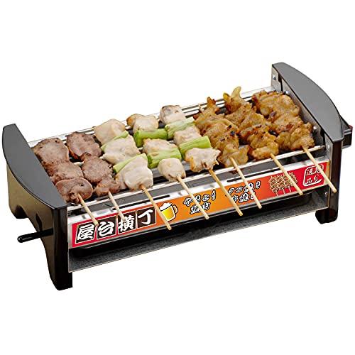 三ッ谷電機 屋台横丁 ※アウトレット品 卓上焼き鳥 品質保証 焼肉 たこ焼き器 MYT-800