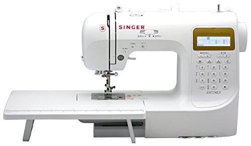 シンガー(SINGER) コンピュータミシン 文字縫い機能付(ひらがな・数字・アルファベット・漢字) ハードケース・フットコントローラー