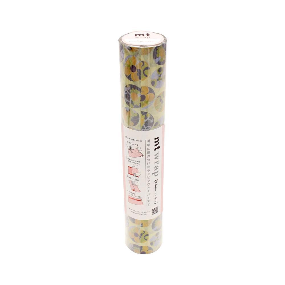 国際ブランド 誰でも簡単に美しくラッピングができるラッピングペーパー 永遠の定番 mt wrap Lisa Larson 多肉植物 MTWRAP53