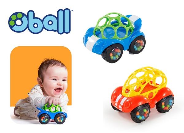 ゆうメール発送 ラトルとミニカーの機能が一緒になった楽しいおもちゃのくるま カラフルなビーズが入りのタイヤは 転がしたりふったりするとカラカラ音が鳴ります 即納 赤ちゃん 楽しいくるまのおもちゃ ラトル バギー キッズ玩具 レッド オーボール 公式通販 ロール カー 送料無料 お値打ち価格で ブル―