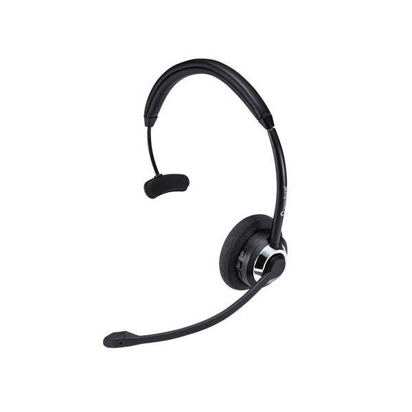 コールセンターでの使用に最適! サンワサプライ コールセンター向けBluetoothヘッドセット MM-BTMH39BK