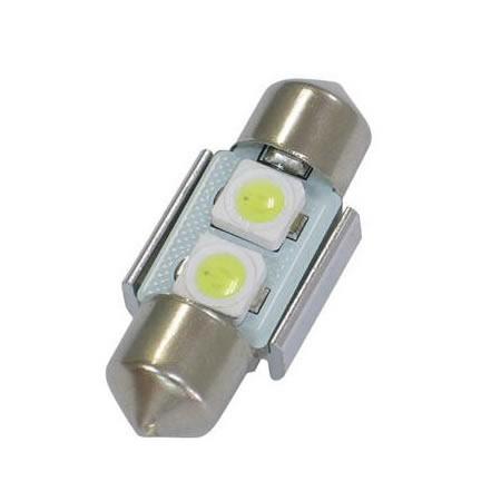 12V車用LED SMD バルブ 期間限定10%OFF 百貨店 LEDスーパービーム 10X31ホワイトTYPE-A GL999-350 GLANZ 大規模セール
