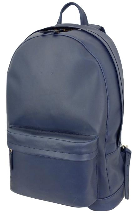 PB 0110 ヌメ革バックパック CA6 ナチュラル・ブルー・ブラック 【ヨーロッパ製】【送料無料】