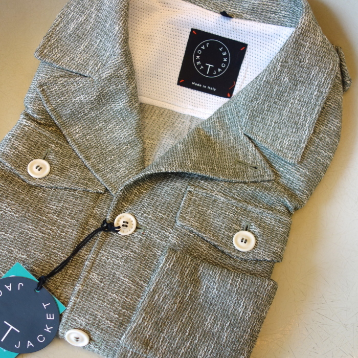 T-JACKET Tージャケット M43 スタイル ジャージジャケット 【セール】【春夏】【送料無料】