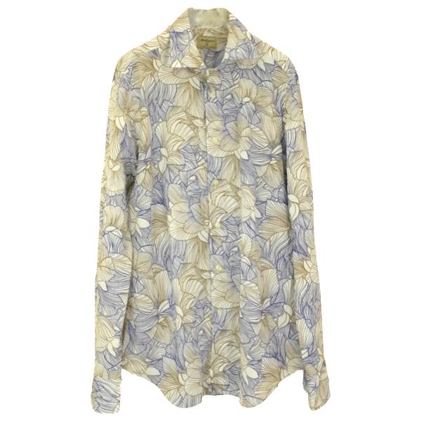 Matteucci マテウッチ シームレスフラワープリントシャツ メール便 セール30 上質 店