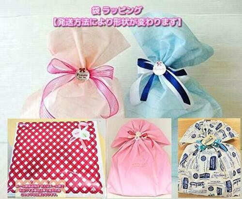 プレゼント用ラッピングシンプル無地【ギフトバッグ】サイズ【中】リボンおまかせお誕生日・出産祝い・贈答品にはぜひ