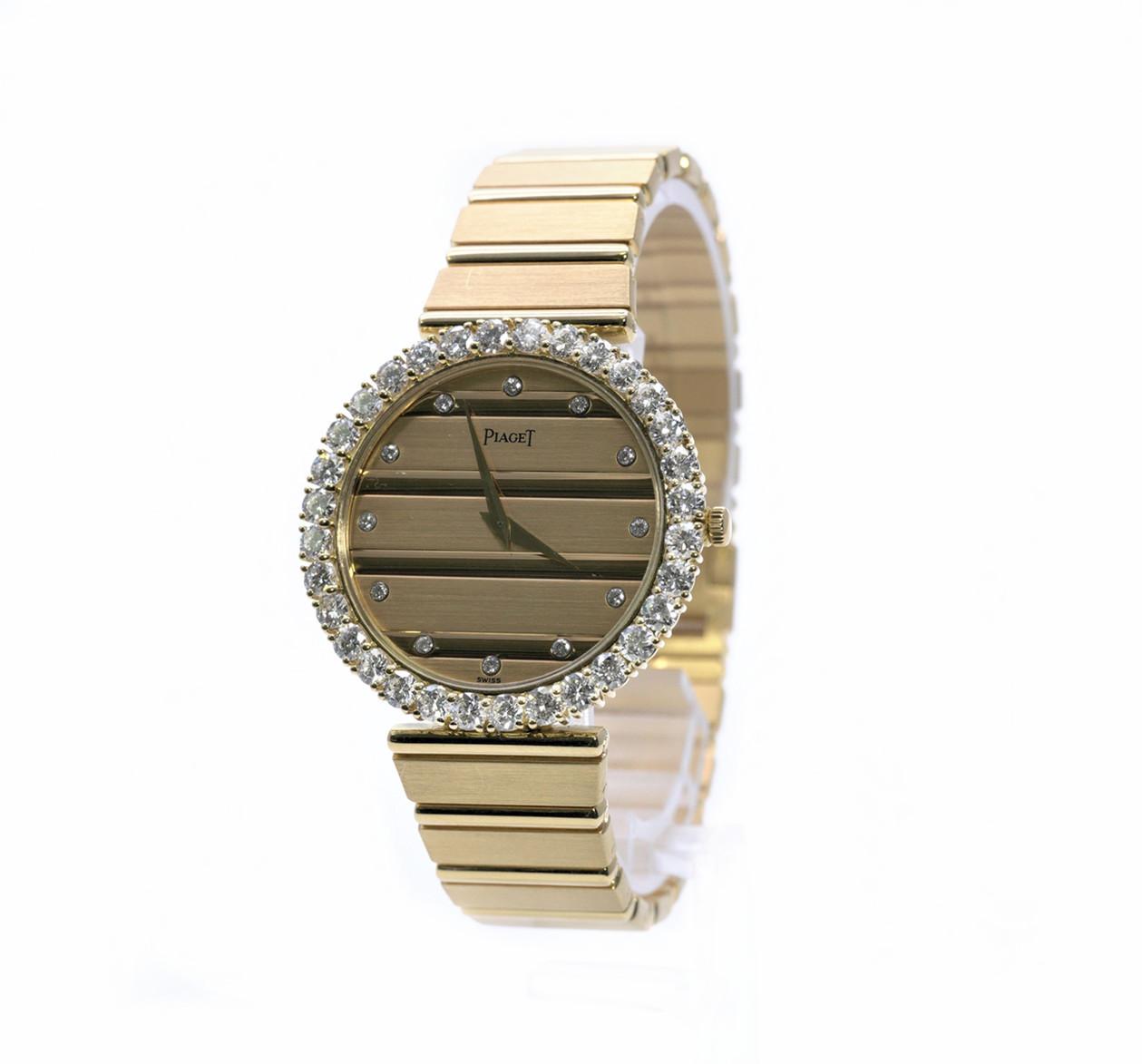☆【】PIAGET ピアジェ オリジナルダイヤモンド クォーツ  腕時計 約108.1g