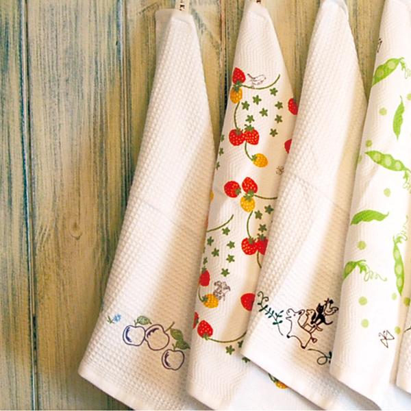 반영구적으로 깨끗 하 고 지속! 용 철 또는 항균 행 주 주방 수건 Shinzi Katoh 싱 노루 터 34 × 38cm 布巾 フキン fs3gm