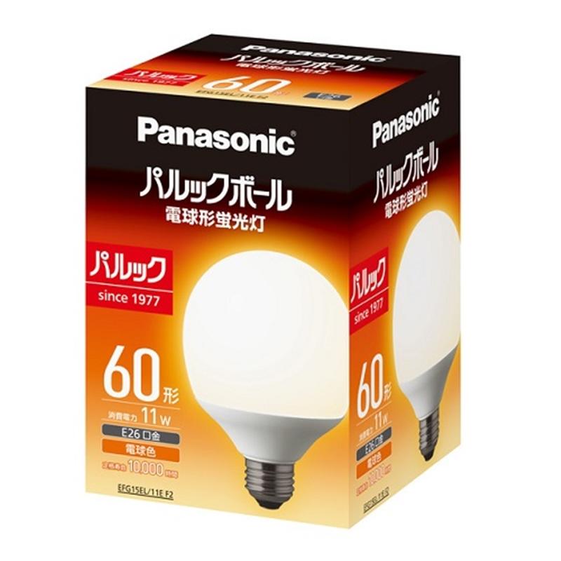 パナソニック 電球型蛍光灯 EFG15EL11EF2 電球色