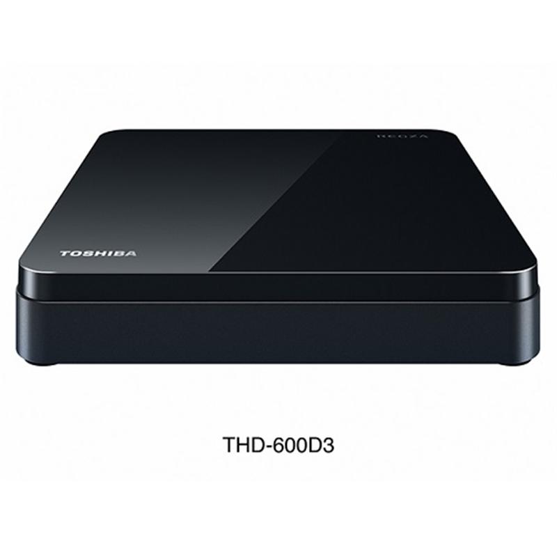 東芝 USBハードディスク(テレビ向け) THD-600D3 ブラック 容量:6TB