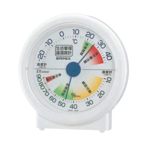 新作続 エンペツクス 生活管理温湿度計 TM-2401 数量は多