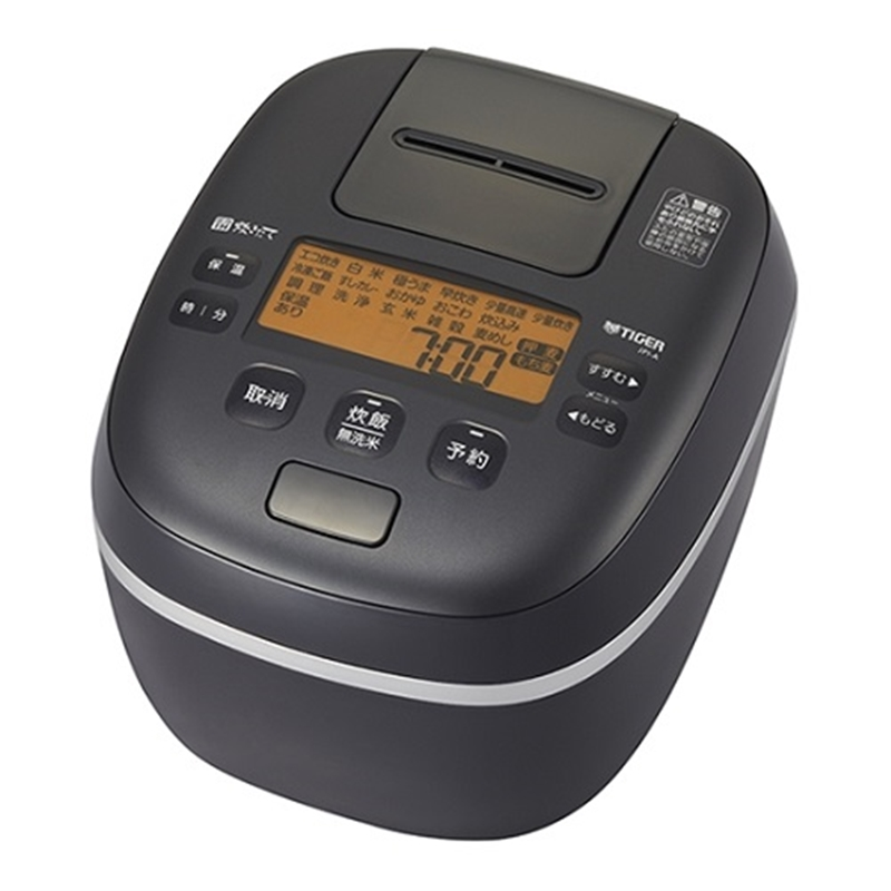 おトク 長期無料保証 タイガー魔法瓶 圧力IH炊飯器 JPI-A100 オフブラック お買い得 炊飯容量:5.5合 KO