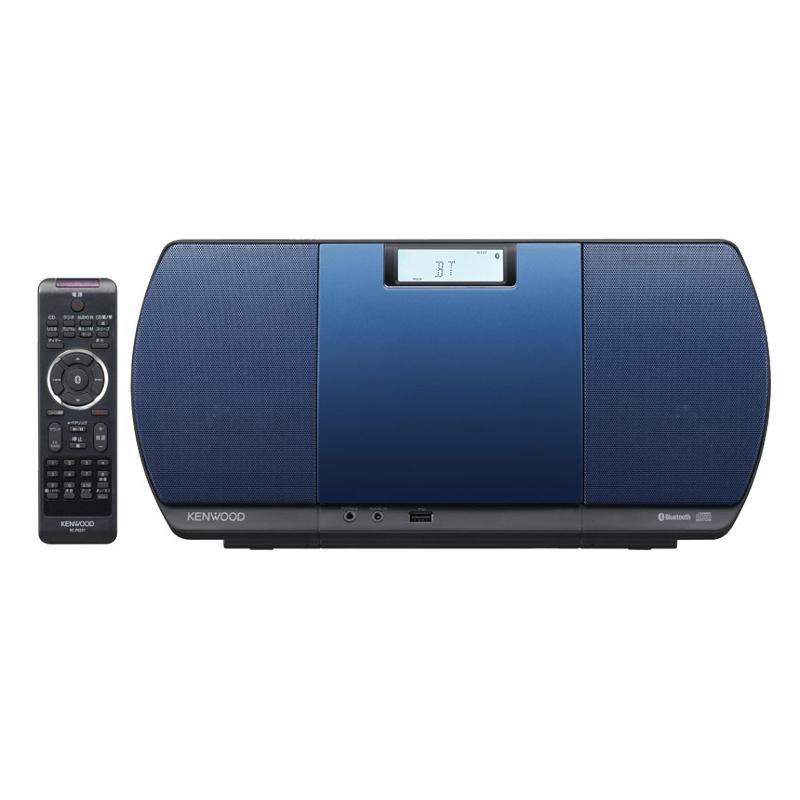 ケンウッド CDコンポ CR-D3-L ブルー