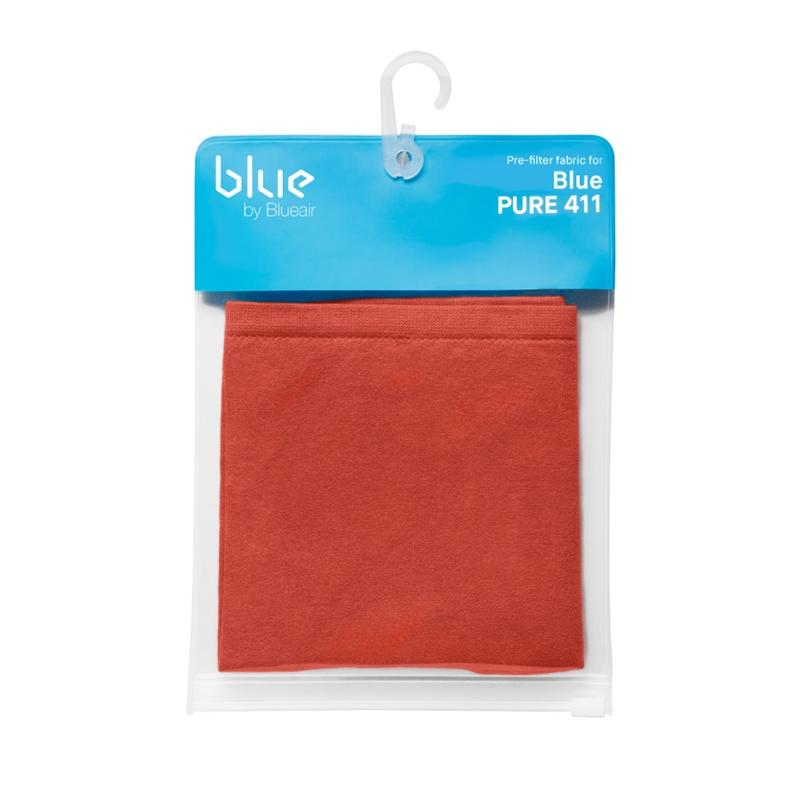 ブルーエア ブルーピュア411 ファブリック 予約販売品 プレフィルター サフランレッド 倉 100946