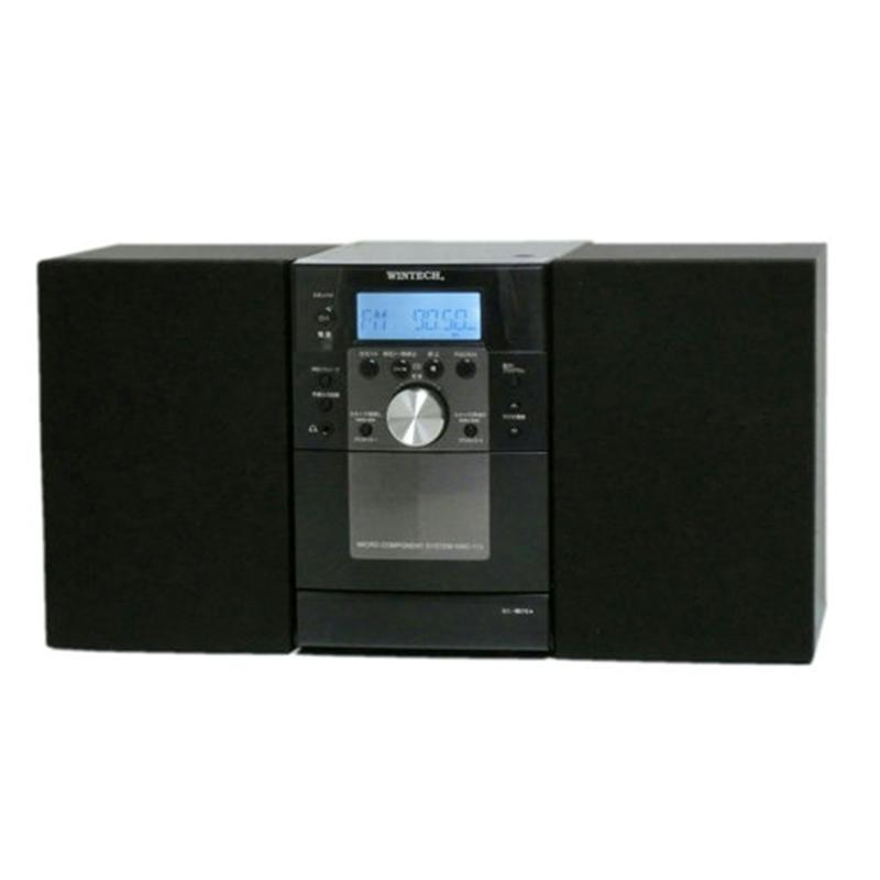 WINTECH 爆売り CDカセットコンポ KMC-113 通販