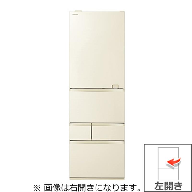 激安/新作 (長期無料保証/配送設置無料)東芝 冷蔵庫 GR-S500GZL(ZC) ラピスアイボリー 左開き 内容量:501リットル, 生月町 ff5f32a1