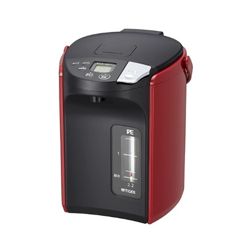送料無料/新品 タイガー魔法瓶 電気ポット PIP-A220 人気上昇中 レッド 2.2L R