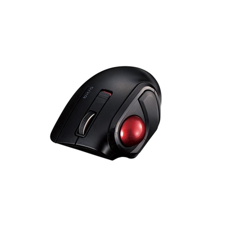 お得セット エレコム トラックボールマウス 親指 5ボタン 静音 BT ブラック 有名な M-MT1BRSBK 小型