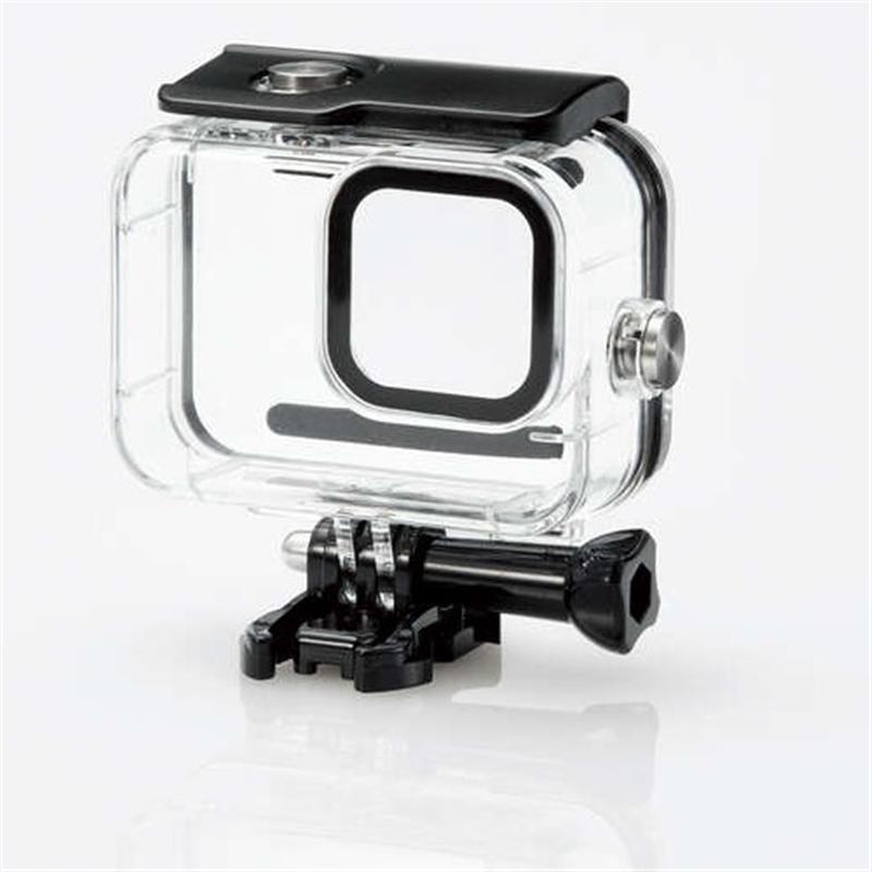 本物 エレコム GoPro HERO9 格安 価格でご提供いたします クリア Black用防水ハウジングケース AC-GP9BWPCCR