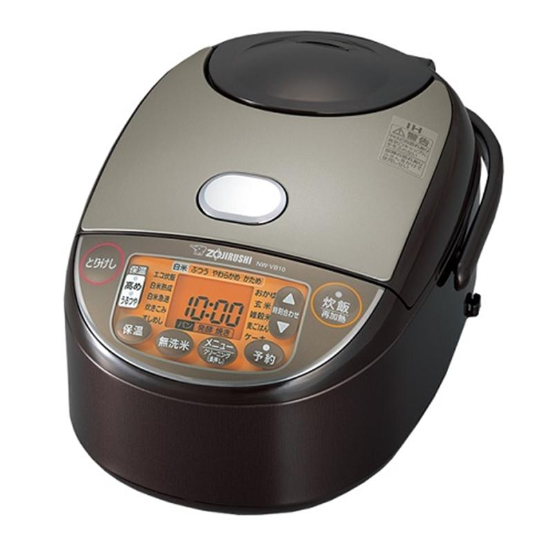 絶品 アウトレット 象印マホービン IH炊飯器 NW-VB10 ブラウン 美品 TA 炊飯容量:5.5合