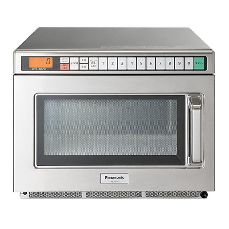 (長期無料保証)パナソニック インバーター業務用電子レンジ NE-1802