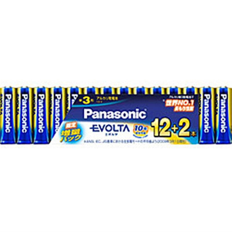 パナソニック 年間定番 エボルタ 乾電池 単3 新作販売 LR6EJSP 14S 14個シュリンク