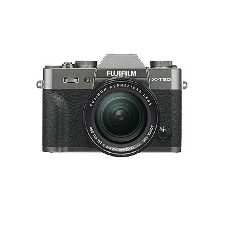 納得できる割引 フジフイルム 小型一眼カメラ 1本レンズキット(標準ズーム) 4K X-T30LK-CS チャコールシルバー, よろずやマルシェ 7b513d11