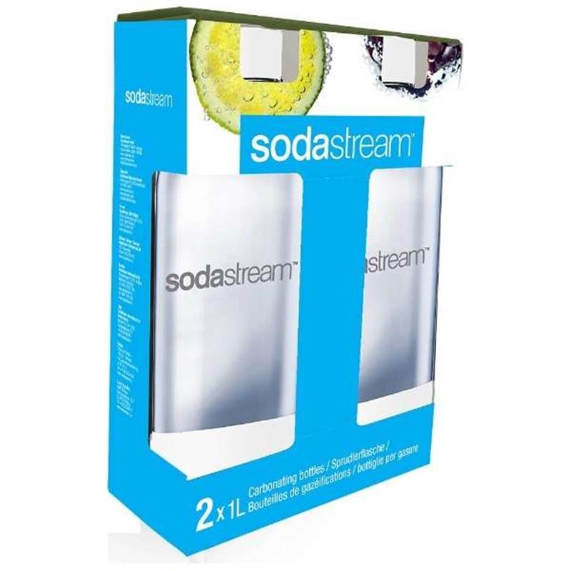 ソーダストリーム 激安通販 専用ボトル2本セット SSB0005 ホワイト 気質アップ