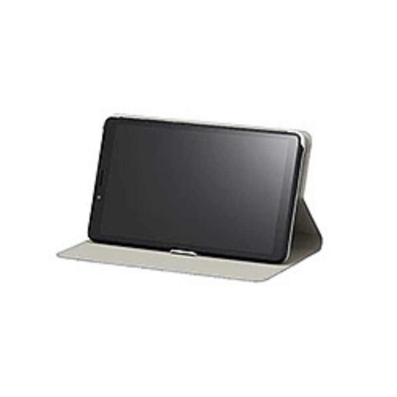 贈答 NEC T7 フォリオケース カバー色:ネイビーブルー 購入 保護フィルム PC-AC-AD024C