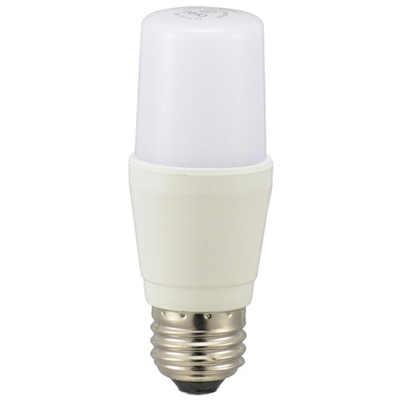 ☆国内最安値に挑戦☆ オーム LED電球 ブランド買うならブランドオフ T型 E26 7W E26口金 昼光色 LDT7D-G IG92 一般電球60W形相当