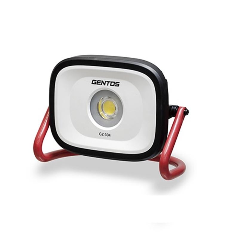アウトレット ジェントス 充電式投光器 GZ-304 毎日続々入荷 レッド系 10%OFF
