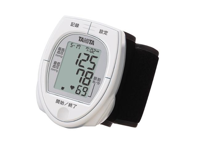 タニタ 手首血圧計 ケース付 単4×2本付 2020 新作 BP-E11-WH ホワイト 安値