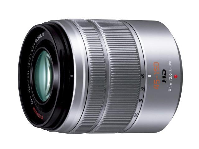 納期約3週間 お一人様1台限り 贈与 輸入 H-FS45150-S Panasonic パナソニック デジタル一眼カメラ用交換レンズ HFS45150S シルバー