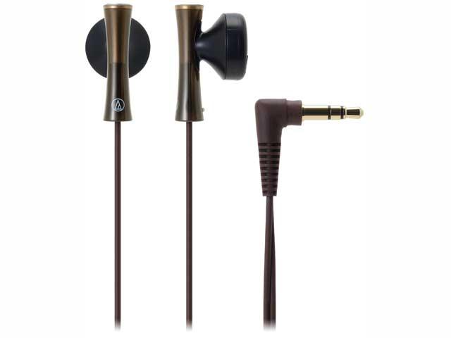 オーディオテクニカ ATH-J100 BW ブラウン インナーイヤーヘッドホン 納期約7~10日 JUICY audio-technica 並行輸入品 ATHJ100 ◆在庫限り◆