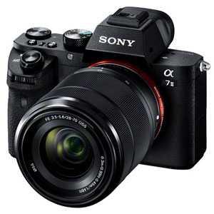 【納期約2週間】【お一人様1台限り】ILCE-7M2K【代引不可】【送料無料】[SONY ソニー] デジタル一眼カメラ α7II ズームレンズキット ILCE7M2K