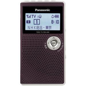 【納期約2週間】RF-ND50TV-T 【送料無料】[Panasonic パナソニック]ワンセグTV(音声)/AM/FMラジオ RFND50TVT
