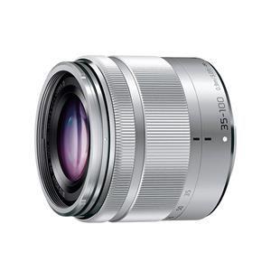 【納期約2週間】【お一人様1台限り】H-FS35100-S [Panasonic パナソニック] 交換用レンズ LUMIX G VARIO 35-100mm F4.0-5.6 ASPH./MEGA O.I.S. シルバー HFS35100S