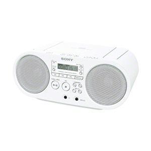 SONY ソニー ZS-S40 W ホワイト ZSS40W CDラジオ 納期約3週間 買い物 激安☆超特価