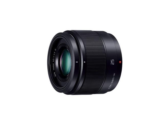 【納期約2週間】【お一人様1台限り】H-H025-K ブラック [Panasonic パナソニック] デジタル一眼カメラ用交換レンズ HH025K